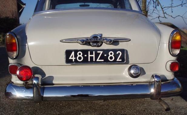Volvo onderdelen roestvrijstalen bumpers