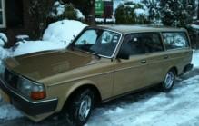 Volvo 245 GL belastingvrij